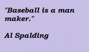 Al Spalding's quote #2