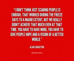 Alan Cranston's quote