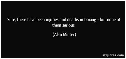 Alan Minter's quote #1