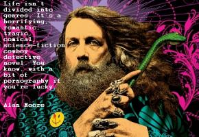 Alan Moore's quote