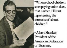 Albert Shanker's quote #1