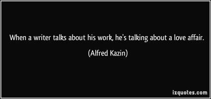 Alfred Kazin's quote #1