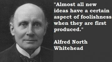 Alfred North Whitehead's quote