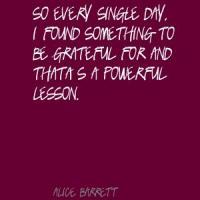 Alice Barrett's quote
