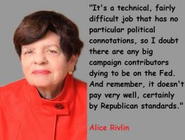 Alice Rivlin's quote #1