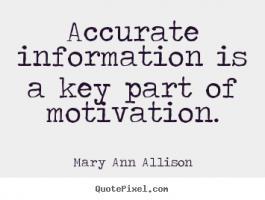 Allison quote #1