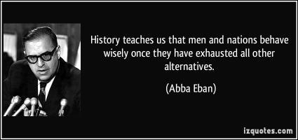 Alternatives quote #2
