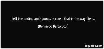 Ambiguous quote