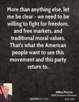 American Values quote