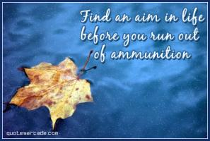 Ammunition quote #1