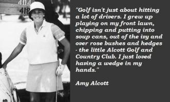 Amy Alcott's quote #4