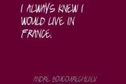 Andre Boucourechliev's quote