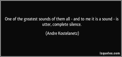 Andre Kostelanetz's quote #1