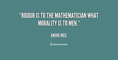 Andre Weil's quote #2