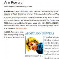 Ann Powers profile photo