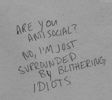 Antisocial quote #1