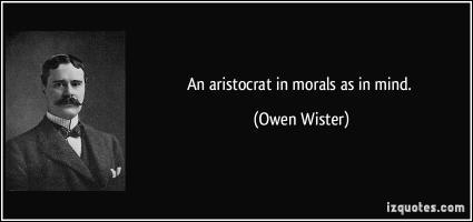 Aristocrat quote #1
