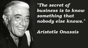 Aristotle Onassis's quote #4