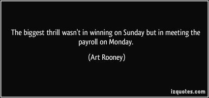 Art Rooney's quote #2