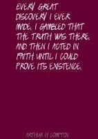 Arthur H. Compton's quote