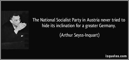 Arthur Seyss-Inquart's quote #1
