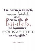 Astrid Lindgren's quote #1