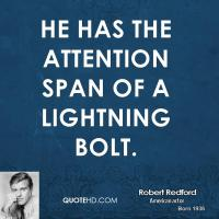 Attention Spans quote #2