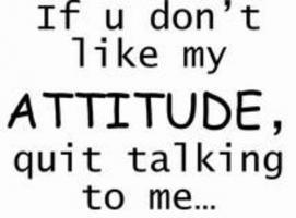 Attitudes quote