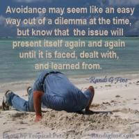 Avoidance quote #1
