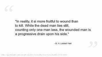 B. H. Liddell Hart's quote #4