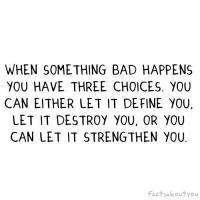 Bad Thing quote