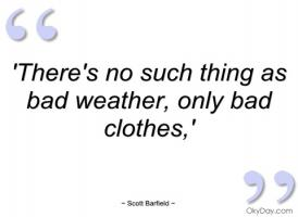 Bad Weather quote