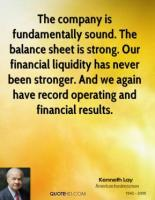Balance Sheets quote #2