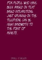 Bandwidth quote #2
