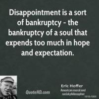 Bankruptcy quote #3