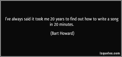 Bart Howard's quote #1