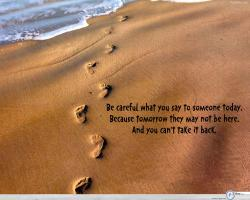 Be Careful quote