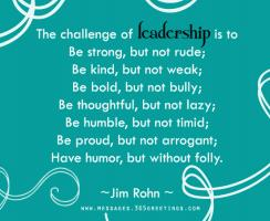 Being A Leader quote #2