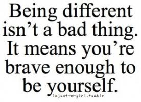 Being Different quote #2