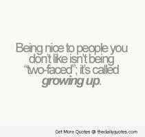 Being Nice quote #2