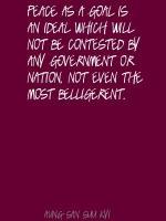 Belligerent quote #2