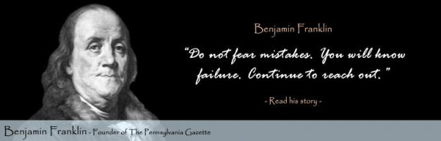 Benjamin Franklin quote #2