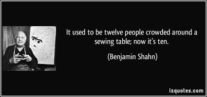 Benjamin Shahn's quote #1