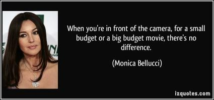 Big Budget quote #2