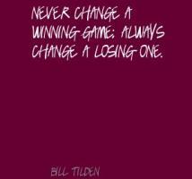 Bill Tilden's quote #1
