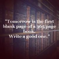 Blank Page quote