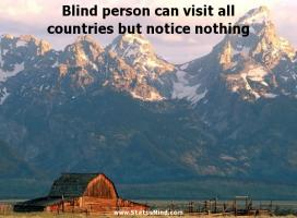 Blind Person quote #2