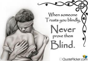 Blindly quote #1