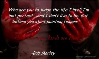Bloody quote