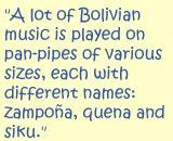 Bolivia quote